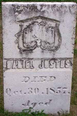 JUSTUS, DANIEL - Johnson County, Iowa   DANIEL JUSTUS