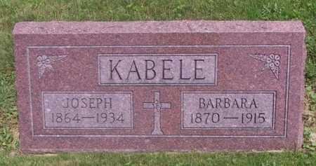 KABELE, JOSEPH - Johnson County, Iowa | JOSEPH KABELE