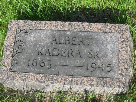 KADERA, ALBERT SR - Johnson County, Iowa   ALBERT SR KADERA