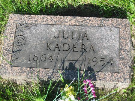 KADERA, JULIA - Johnson County, Iowa | JULIA KADERA