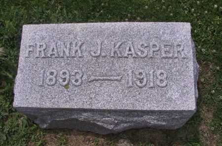 KASPER, FRANK J. - Johnson County, Iowa | FRANK J. KASPER