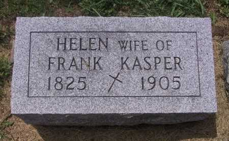 KASPER, HELEN - Johnson County, Iowa | HELEN KASPER