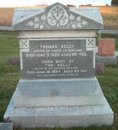 KELLY, ANNA - Johnson County, Iowa | ANNA KELLY