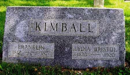 KIMBALL, LYDIA - Johnson County, Iowa | LYDIA KIMBALL
