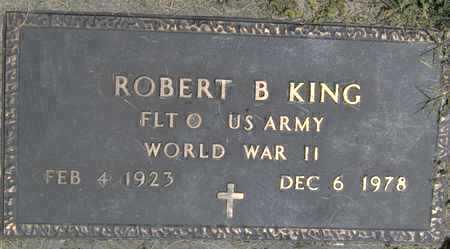 KING, ROBERT B - Johnson County, Iowa   ROBERT B KING