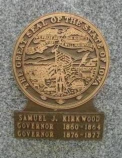 KIRKWOOD, SAMUEL J - Johnson County, Iowa | SAMUEL J KIRKWOOD