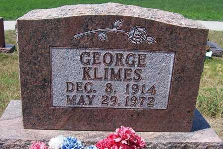 KLIMES, GEORGE - Johnson County, Iowa | GEORGE KLIMES