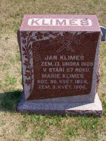 KLIMES, MARIE - Johnson County, Iowa | MARIE KLIMES