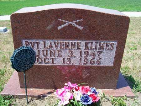 KLIMES, LAVERNE - Johnson County, Iowa | LAVERNE KLIMES