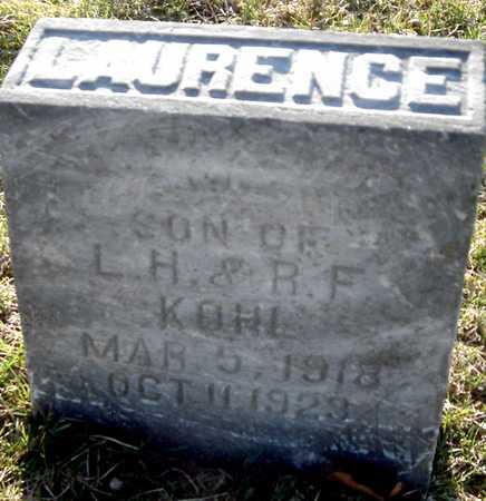 KOHL, LAURENCE - Johnson County, Iowa   LAURENCE KOHL