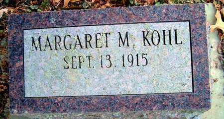 KOHL, MARGARET M - Johnson County, Iowa   MARGARET M KOHL
