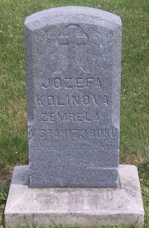KOLINOVA, JOZEFA - Johnson County, Iowa | JOZEFA KOLINOVA