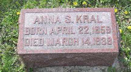 KRAL, ANNA S. - Johnson County, Iowa | ANNA S. KRAL