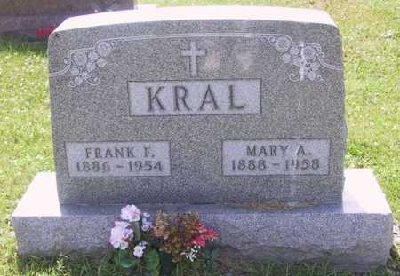 KRAL, FRANK F - Johnson County, Iowa | FRANK F KRAL