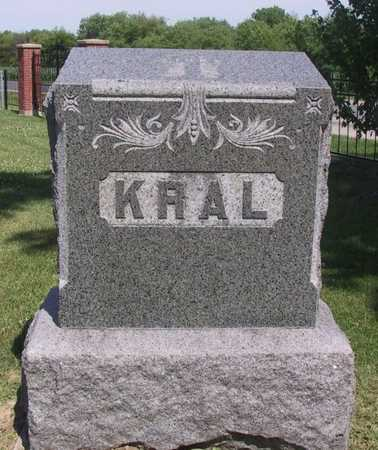 KRAL, FAMILY STONE - Johnson County, Iowa | FAMILY STONE KRAL