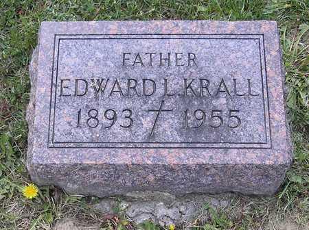KRALL, EDWARD - Johnson County, Iowa | EDWARD KRALL