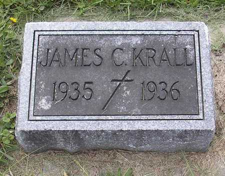 KRALL, JAMES C. - Johnson County, Iowa | JAMES C. KRALL