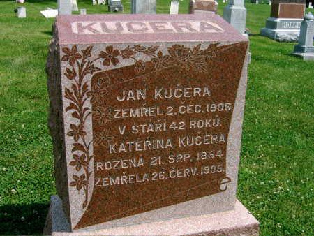 KUCERA, KATERINA - Johnson County, Iowa | KATERINA KUCERA