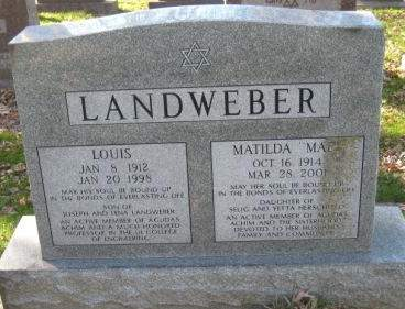 LANDWEBER, LOUIS - Johnson County, Iowa | LOUIS LANDWEBER