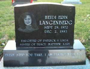 LANGENBERG, HEIDI ERIN - Johnson County, Iowa | HEIDI ERIN LANGENBERG