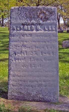 LEE, ALFRED B. - Johnson County, Iowa | ALFRED B. LEE