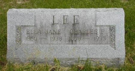 LEE, CHARLES P - Johnson County, Iowa | CHARLES P LEE