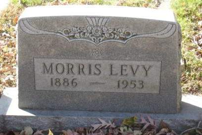 LEVY, MORRIS - Johnson County, Iowa | MORRIS LEVY