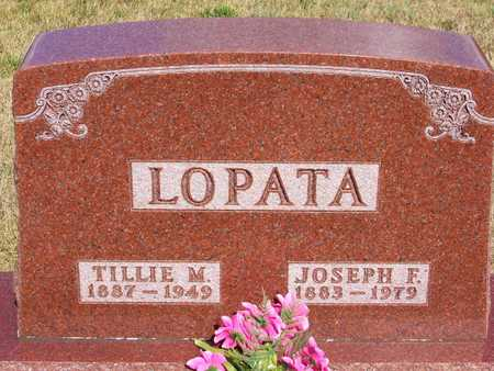 LOPATA, TILLIE - Johnson County, Iowa | TILLIE LOPATA