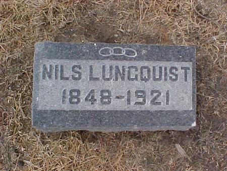 LUNGQUIST, NILS - Johnson County, Iowa | NILS LUNGQUIST