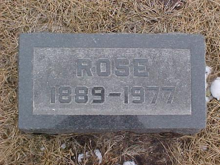 DVORAK LUNGQUIST, ROSE - Johnson County, Iowa | ROSE DVORAK LUNGQUIST