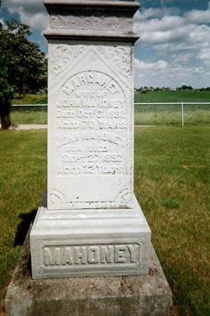 MAHONEY, MARGARET - Johnson County, Iowa | MARGARET MAHONEY