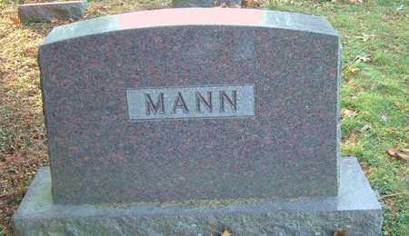 MANN, DORIS GEORGINA - Johnson County, Iowa   DORIS GEORGINA MANN