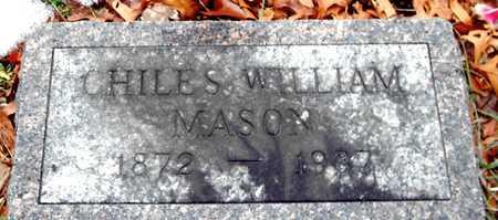 MASON, CHILES WILLIAM - Johnson County, Iowa   CHILES WILLIAM MASON
