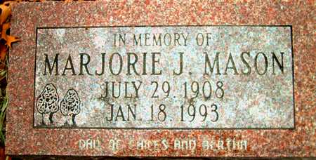 MASON, MARJORIE J. - Johnson County, Iowa | MARJORIE J. MASON