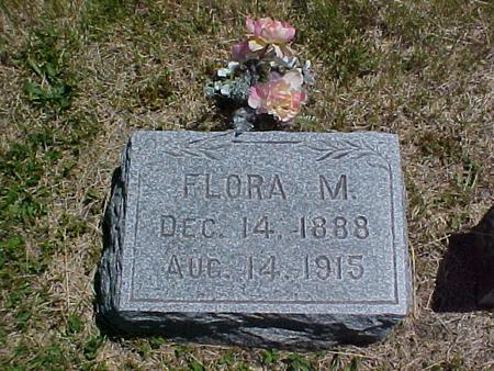 MCBRIDE, FLORA M. - Johnson County, Iowa   FLORA M. MCBRIDE