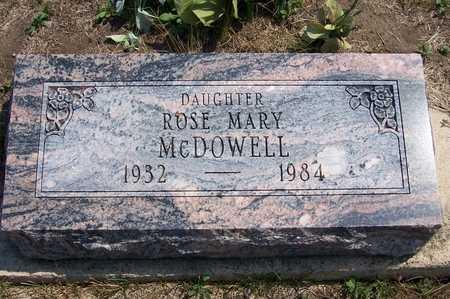 STANCEL MCDOWELL, ROSE - Johnson County, Iowa | ROSE STANCEL MCDOWELL