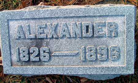 MEHAFFEY, ALEXANDER - Johnson County, Iowa | ALEXANDER MEHAFFEY