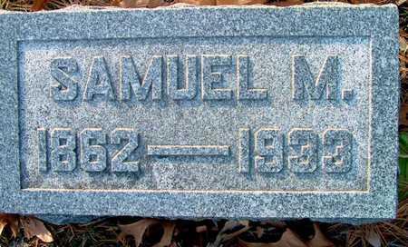 MEHAFFEY, SAMUEL M - Johnson County, Iowa | SAMUEL M MEHAFFEY
