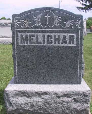 MELICHAR, FAMILY STONE - Johnson County, Iowa   FAMILY STONE MELICHAR