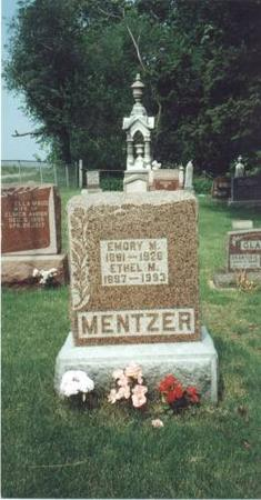 MENTZER, EMORY & ETHEL - Johnson County, Iowa | EMORY & ETHEL MENTZER
