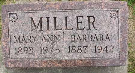MILLER, BARBARA - Johnson County, Iowa | BARBARA MILLER