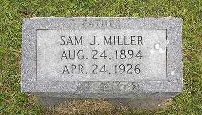 MILLER, SAMUEL J. - Johnson County, Iowa   SAMUEL J. MILLER