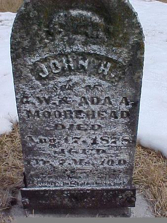 MOOREHEAD, JOHN H. - Johnson County, Iowa | JOHN H. MOOREHEAD