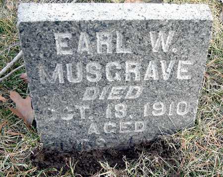 MUSGRAVE, EARL W - Johnson County, Iowa | EARL W MUSGRAVE