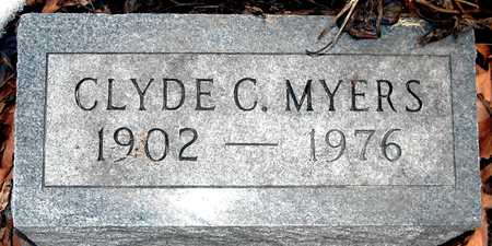 MYERS, CLYDE C - Johnson County, Iowa | CLYDE C MYERS