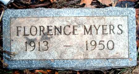 MYERS, FLORENCE - Johnson County, Iowa | FLORENCE MYERS