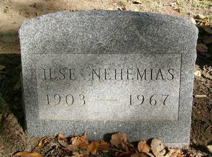 NEHEMIAS, ILSE - Johnson County, Iowa | ILSE NEHEMIAS