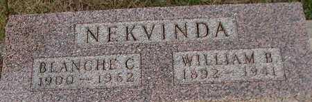 NEKVINDA, WILLIAM B. - Johnson County, Iowa | WILLIAM B. NEKVINDA