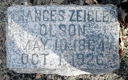 OLSON, FRANCES - Johnson County, Iowa | FRANCES OLSON