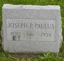 PAULUS, JOSEPH P - Johnson County, Iowa | JOSEPH P PAULUS